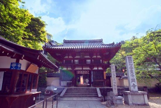 岡寺の駐車場は無料駐車場もありますが、車でのアクセスでおすすめは?