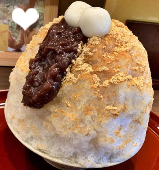 奈良の千寿庵吉宗のかき氷のメニューは?きな粉やわらび餅のかき氷も!!